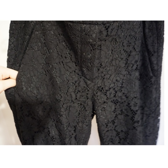 54ba6bac J.CREW Easy Pant in Lace Sz 2 Tall